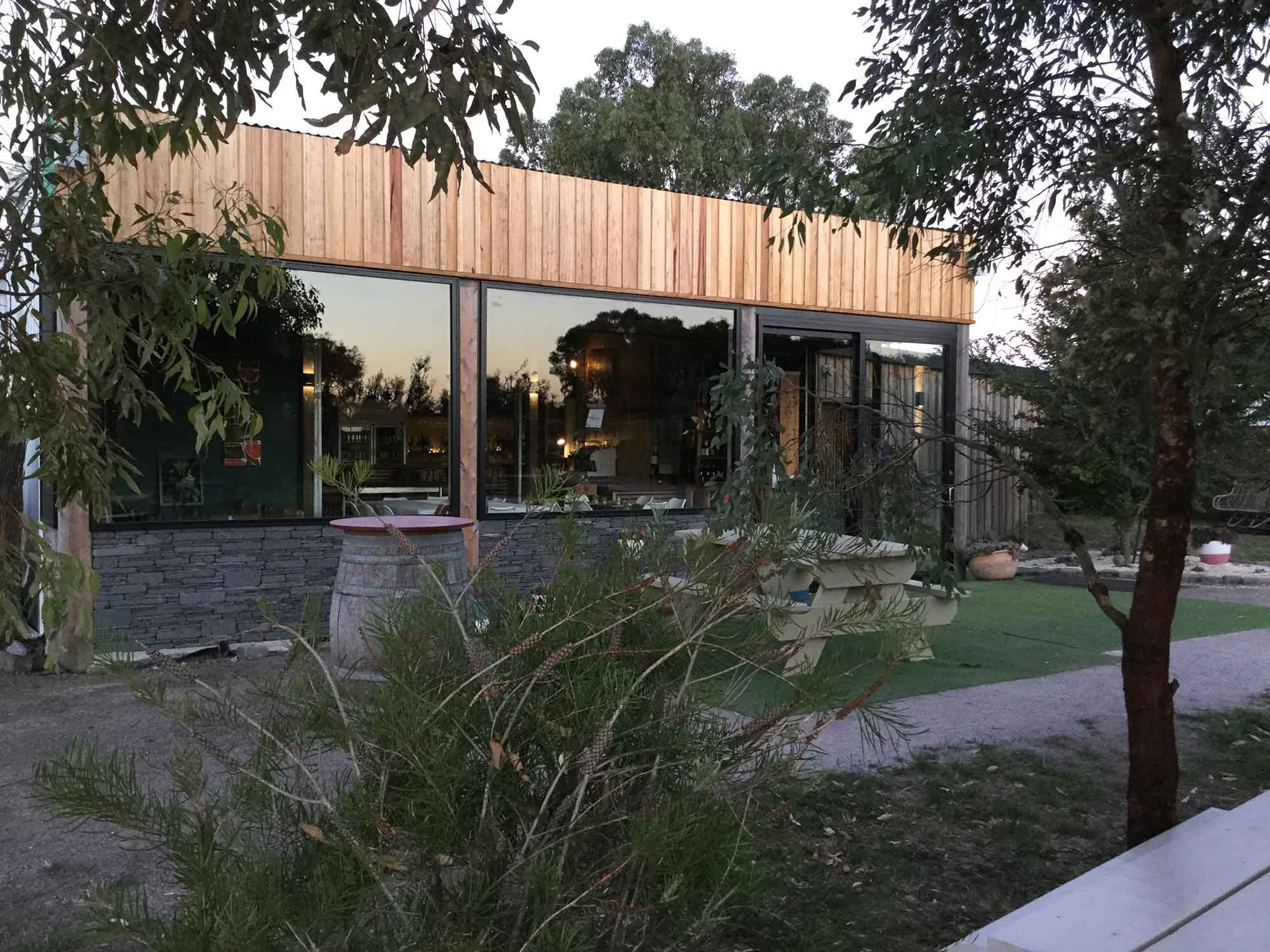 Cellar Door at Basalt Vineyard